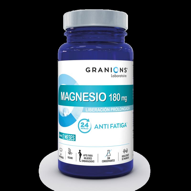 Magnésio 180mg: Antifatiga