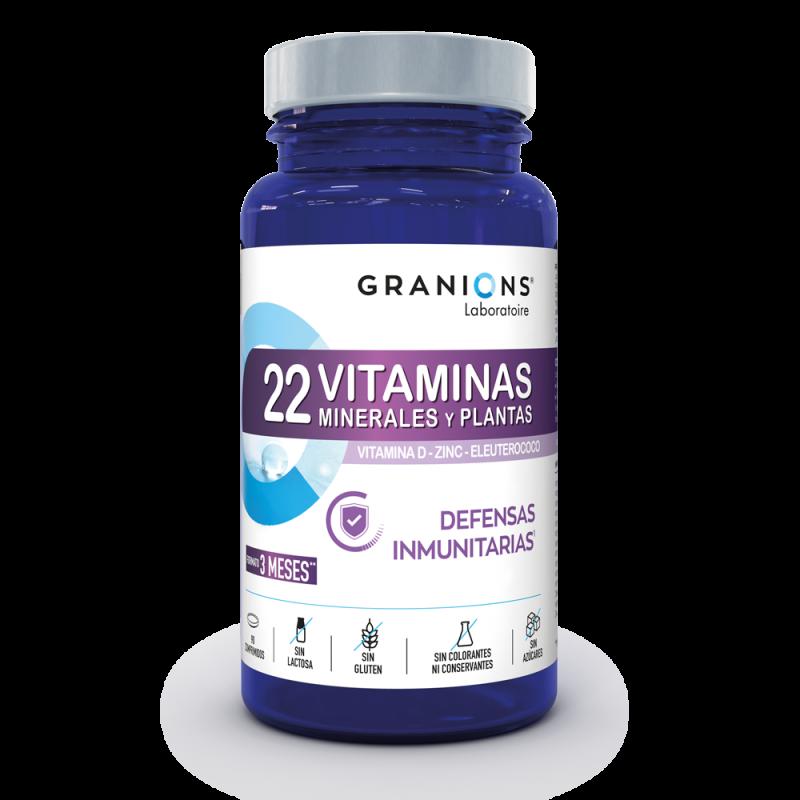 22 Vitaminas - Defensas Inmunitarias