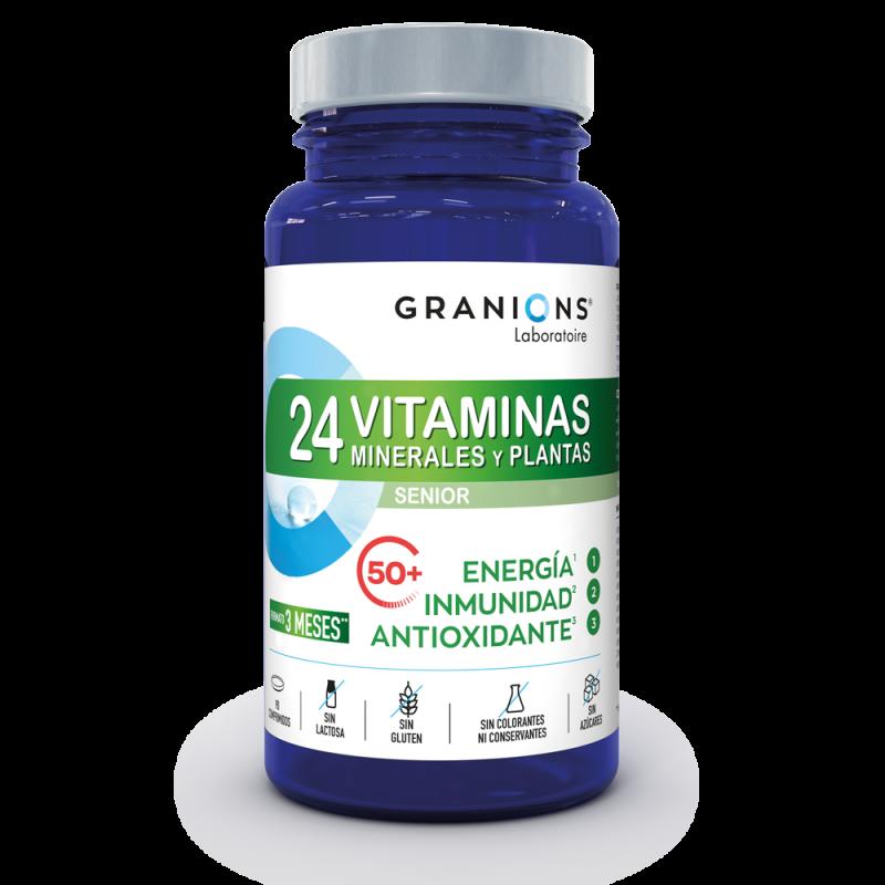 24 Vitaminas - Antioxidante